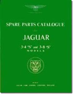 Jaguar S Type 1963-68 Spare Parts Catalogue