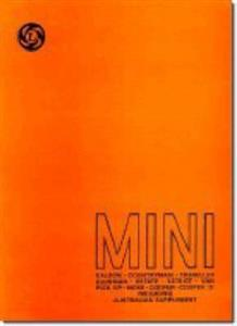 Mini 1959-76 Factory Workshop Manual Incl Australian Supplement