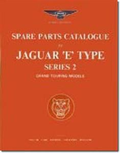 Jaguar E Type Series 2 Spare Parts Catalogue