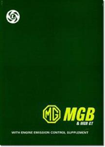 MG MGB & MGBGT Factory Workshop Manual