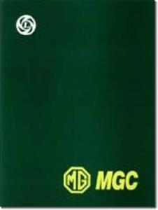 MG MGC 1967-69 Factory Workshop Manual