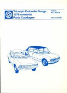 Triumph Dolomite 1976on Parts Catalogue