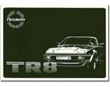 Triumph TR8 Owners Handbook US Ed