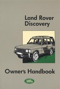 Land Rover Discovery 1989-98 Owners Handbook
