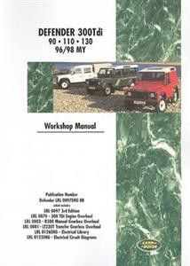 Land Rover Defender 300Tdi 1996-98 Factory Workshop Manual 90 110 130