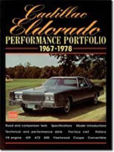 Cadillac Eldorado 1959-66 Performance Portfolio Road Tests
