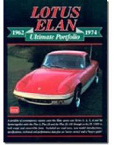 Lotus Elan Ultimate Portfolio 1962-74 Road Tests