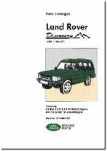Land Rover Discovery 1989-98 Parts Catalogue