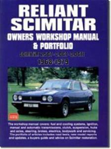 Reliant Scimitar Workshop Manual And Road Test Portfolio 1968-79