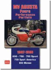 MV Agusta Fours 1967-80 Performance Portfolio Road Tests