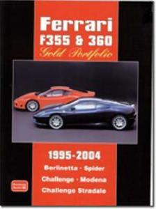 Ferrari F355 And 360 Gold Portfolio 1995-2004 Road Tests