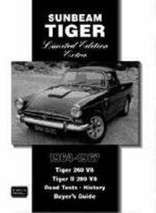 Sunbeam Tiger 1964-67 Limited Edition Extra Road Tests OUT OF PRINT