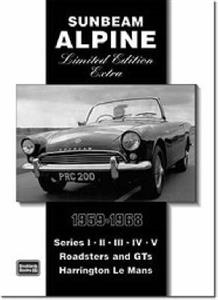 Sunbeam Alpine Limited Edition Extra 1959-68 Road Tests