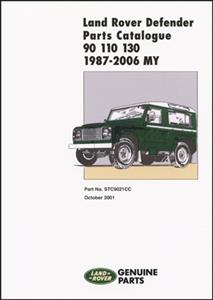 Land Rover Defender 90 110 130 Parts Catalogue 1987-2006