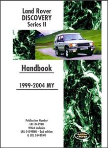 Land Rover Discovery Series II 1999-2004 Owners Handbook