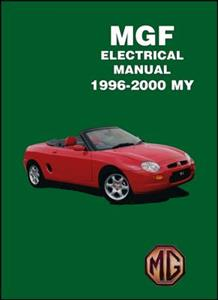 MG MGF 1995-2001 Factory Electrical Manual