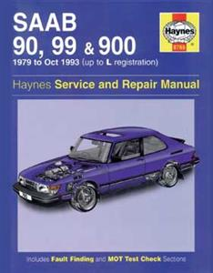 Saab 90 99 & 900 1979-93 Repair Manual