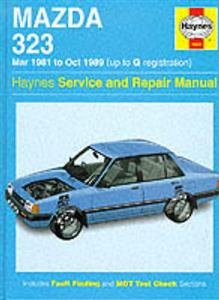 Mazda 323 (Familia) 1981-89 Repair Manual FWD Petrol Not DOHC, Turbo or 4WD