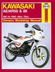 Kawasaki AE/AR 50 & 80 1981-95 Repair Manual