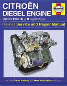 Citroen Diesel Engine 1984-96 Repair Manual