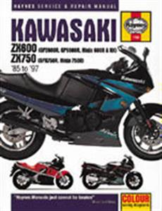 Kawasaki ZX600 (GPZ600 GPX600 & Ninja) 1985-97 And ZX750 (GPX750 & Ninja) 1987-91 Repair Manual