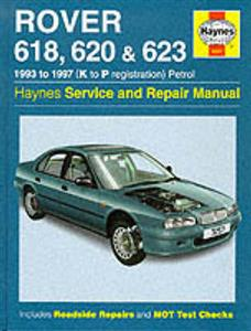 Rover 618 620 623 1993-97 Repair Manual Petrol