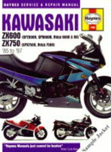 Kawasaki ZX750 ZXR750 Fours 1989-96 Repair Manual