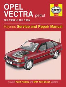 Opel Vectra 1988-95 (NZ Holden) Repair Manual 4cyl Petrol
