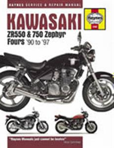 Kawasaki ZR550 & 750 Zephyr 1990-97 Repair Manual
