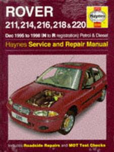 Rover 211 214 216 218 220 1995-98 Repair Manual Petrol & Diesel
