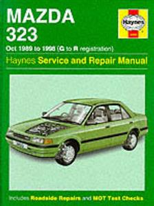 Mazda 323 1989-98 Repair Manual Petrol OUT OF PRINT
