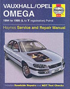 Vauxhall/Opel Omega 1994-99 Repair Manual Petrol