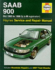Saab 900 1993-98 Repair Manual 4 Cylinder Petrol