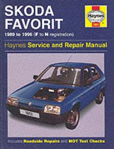 Skoda Favorit 1989-96