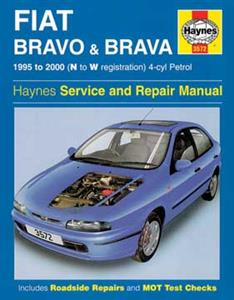 Fiat Bravo And Brava 1995-00 Petrol Repair Manual 1.2 1.4 1.6 1.8