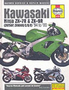 Kawasaki ZX750P And ZX900B/C/E 1994-2000 Repair Manual aka ZX-7R Ninja And ZX-9R Ninja