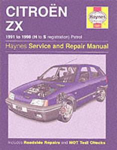Citroen ZX Petrol 1991-98 Repair Manual