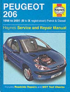 Peugeot 206 Petrol & Diesel 1998-01 Repair Manual