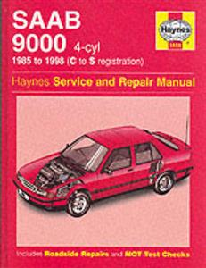 Saab 9000 1985-98 Repair Manual 4 Cylinder Petrol