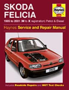 Skoda Felicia 1995-2001 Repair Manual Petrol & Diesel