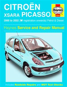 Citroen Xsara Picasso 2000-02 Repair Manual Petrol & Diesel