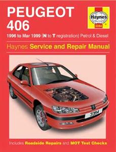 Peugeot 406 1996-99 Repair Manual Petrol & Diesel