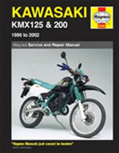 Kawasaki KMX125 & 200 1986-2002 Repair Manual