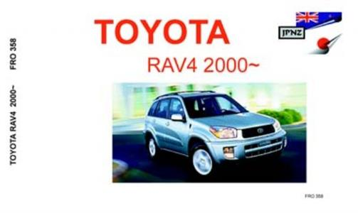 Toyota RAV4 2000-05 Translated Owner's Handbook