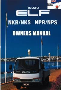 Isuzu Elf 1993-2003 Translated Owner's Handbook