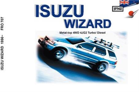 Isuzu Wizard 1995-98 Translated Owner's Handbook