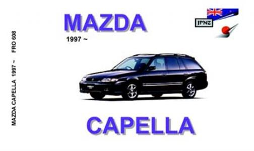Mazda Capella 1997-2002 Translated Owner's Handbook