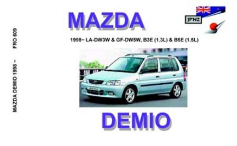 Mazda Demio 1996-2001 Translated Owner's Handbook