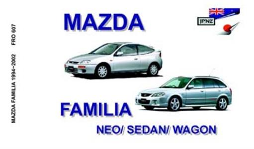 Mazda Familia 1994-02 Translated Owner's Handbook - Neo Sedan & Wagon