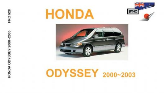 Honda Odyssey 1999-2003 Translated Owners Handbook